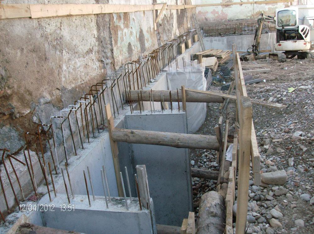 edilizia fontana sottomurazioni scavi armati specializzati sottomurazioni 40 opere strutturali scavi