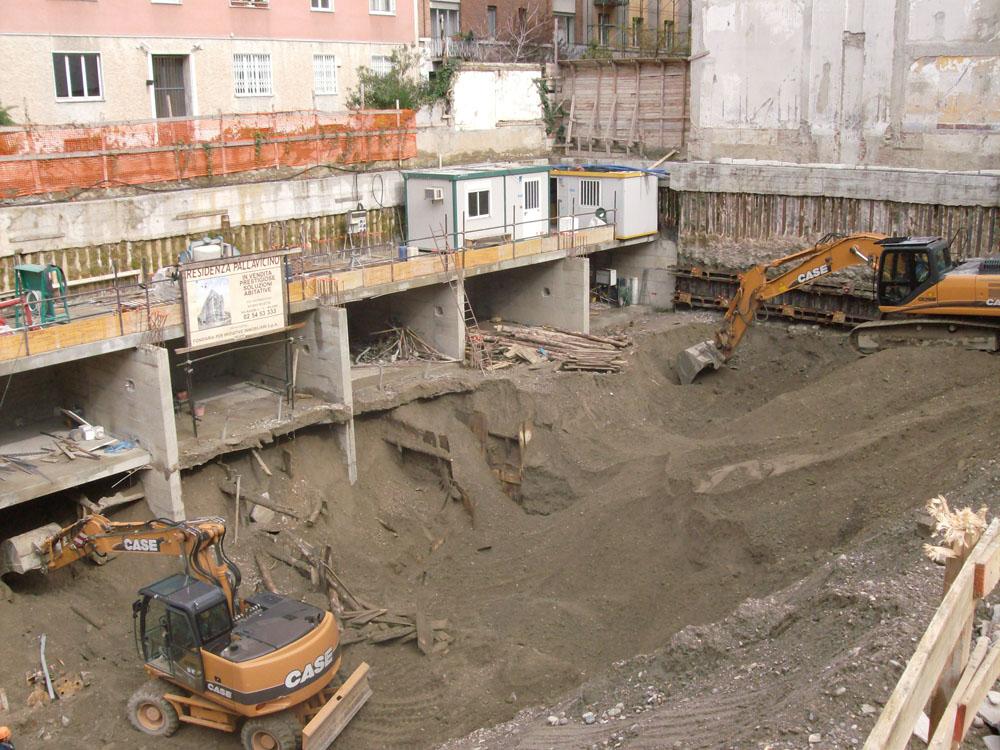 edilizia fontana sottomurazioni scavi armati specializzati sottomurazioni 19 scavi