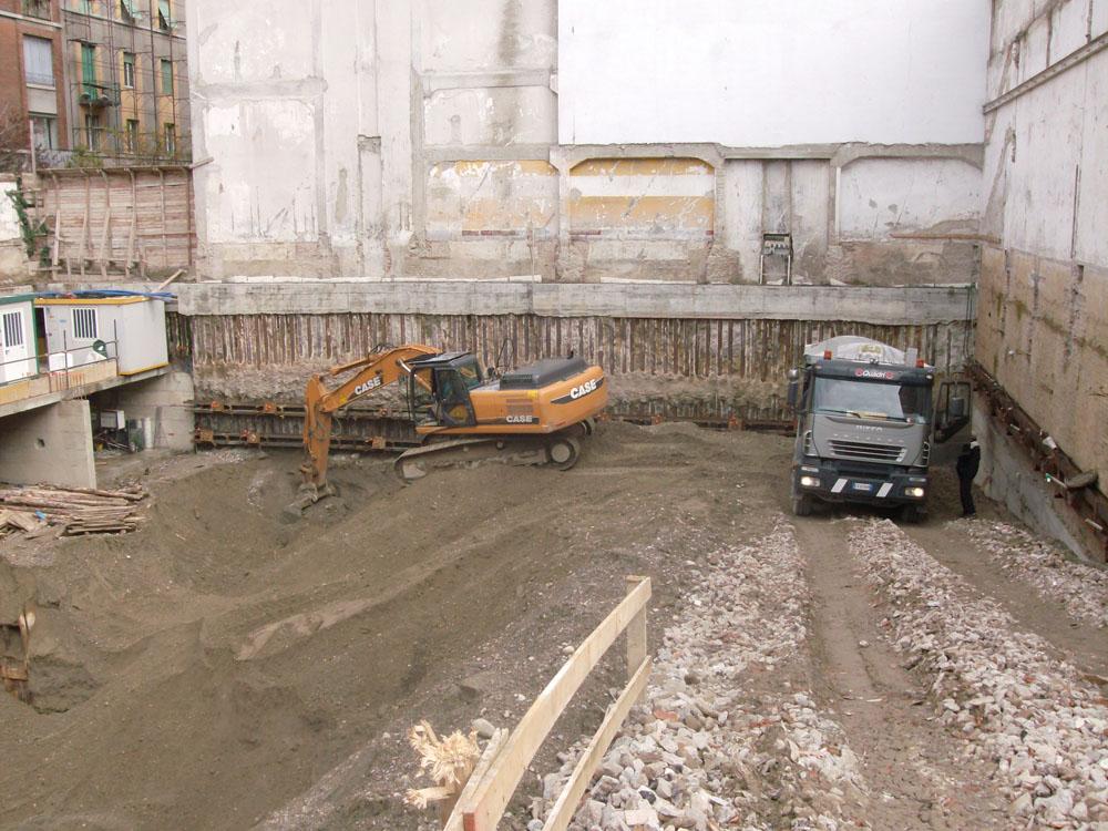 edilizia fontana sottomurazioni scavi armati specializzati sottomurazioni 17 scavi