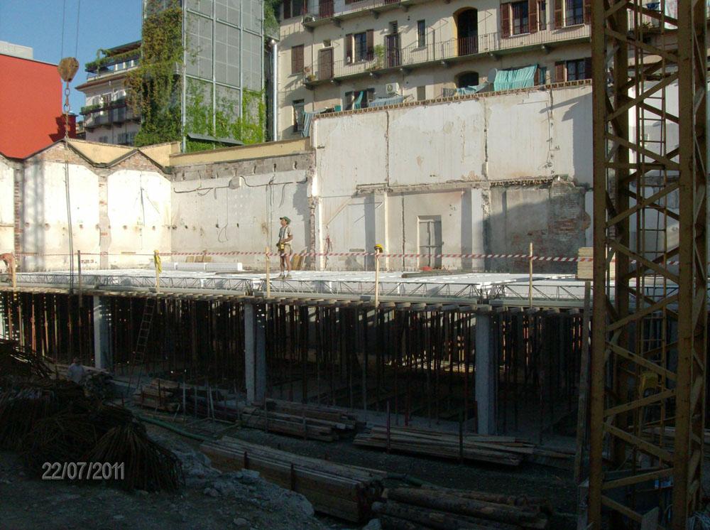 edilizia fontana sottomurazioni scavi armati specializzati sottomurazioni 07 opere strutturali scavi