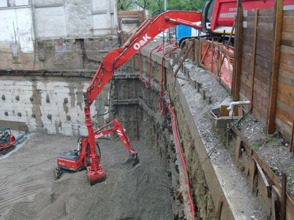 edilizia fontana sottomurazioni scavi armati specializzati sottomurazioni 16 scavi