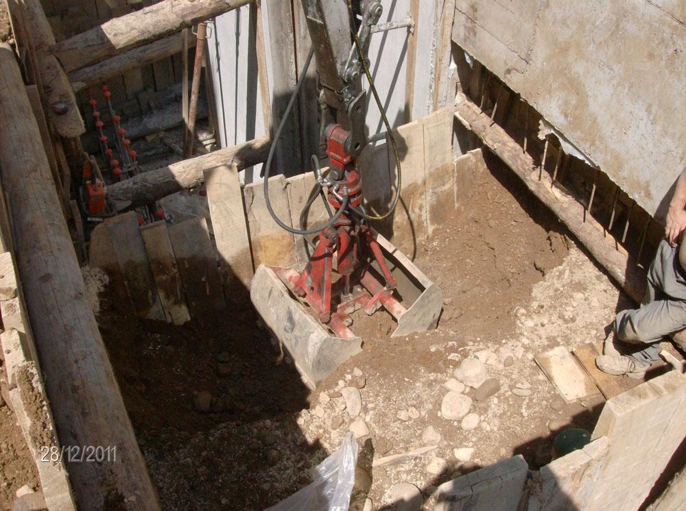 edilizia fontana sottomurazioni scavi armati specializzati sottomurazioni 33 opere strutturali scavi