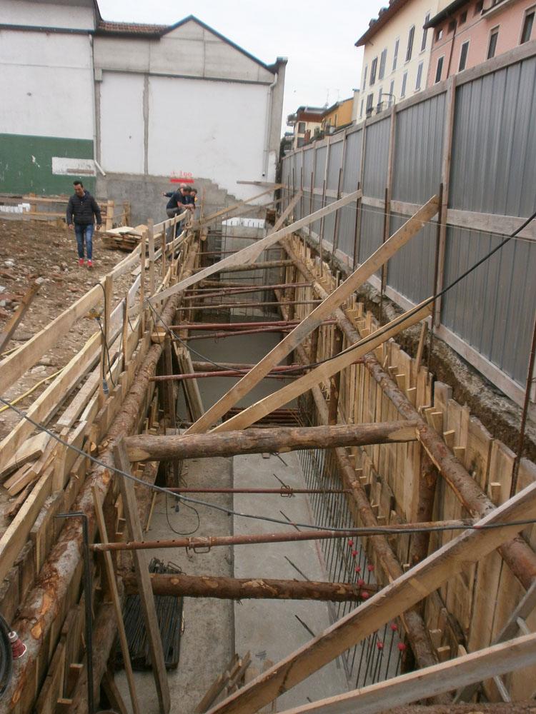 edilizia fontana sottomurazioni scavi armati specializzati sottomurazioni 27 opere strutturali scavi