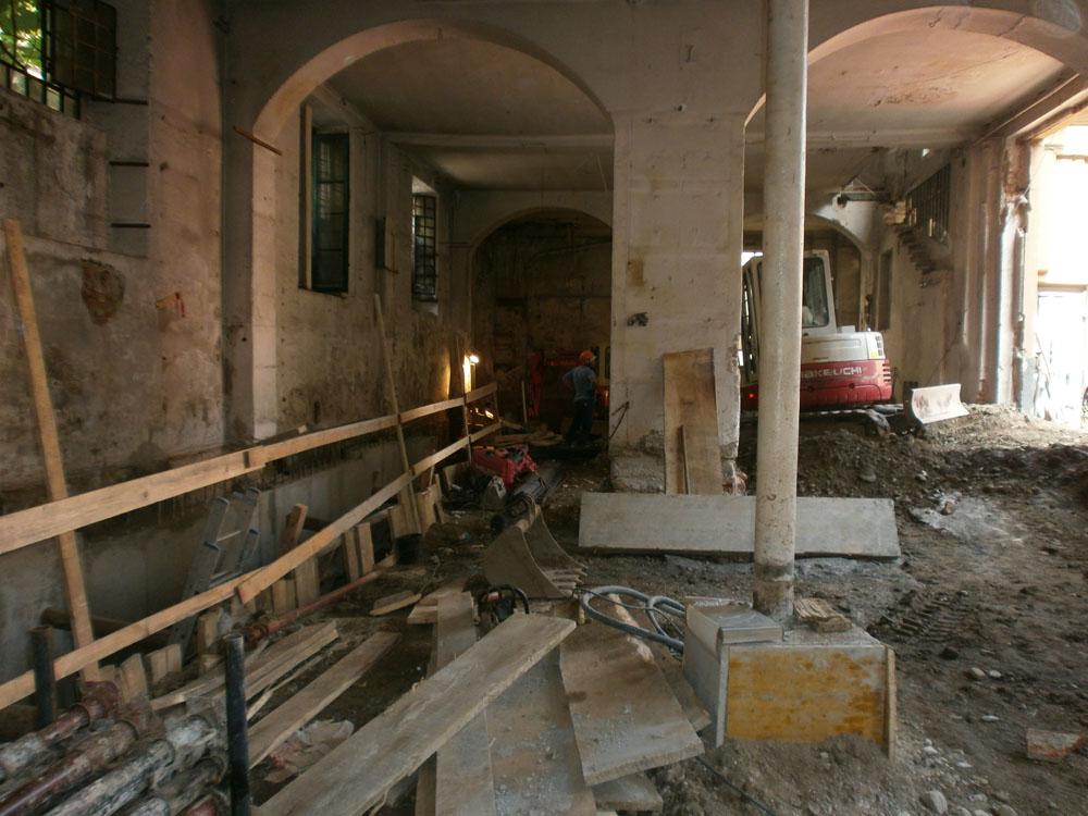 edilizia fontana sottomurazioni scavi armati specializzati sottomurazioni 24 opere strutturali scavi