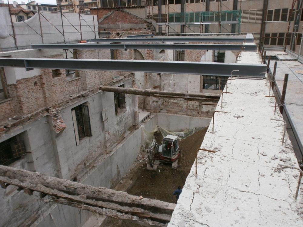 edilizia fontana sottomurazioni scavi armati specializzati sottomurazioni 17 opere strutturali scavi