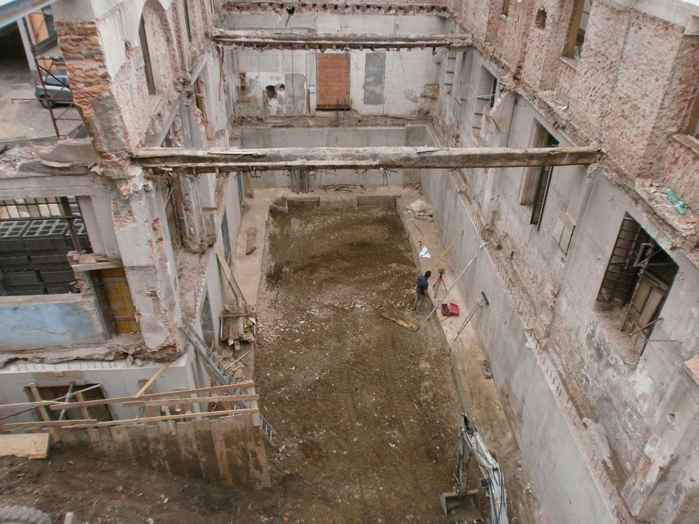 edilizia fontana sottomurazioni scavi armati specializzati sottomurazioni 16 opere strutturali scavi