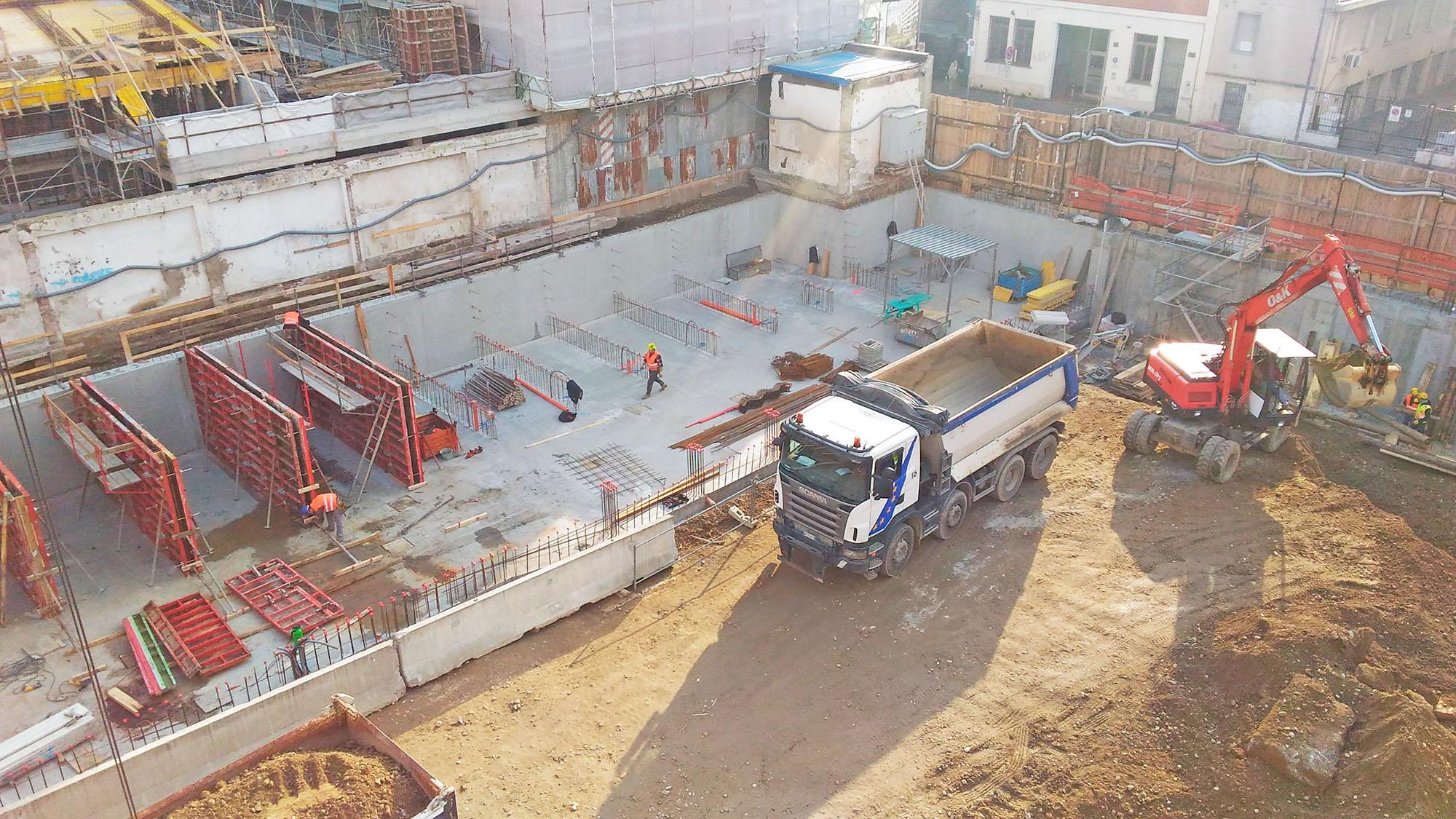 edilizia fontana sottomurazioni scavi armati specializzati sottomurazioni opere strutturali scavi