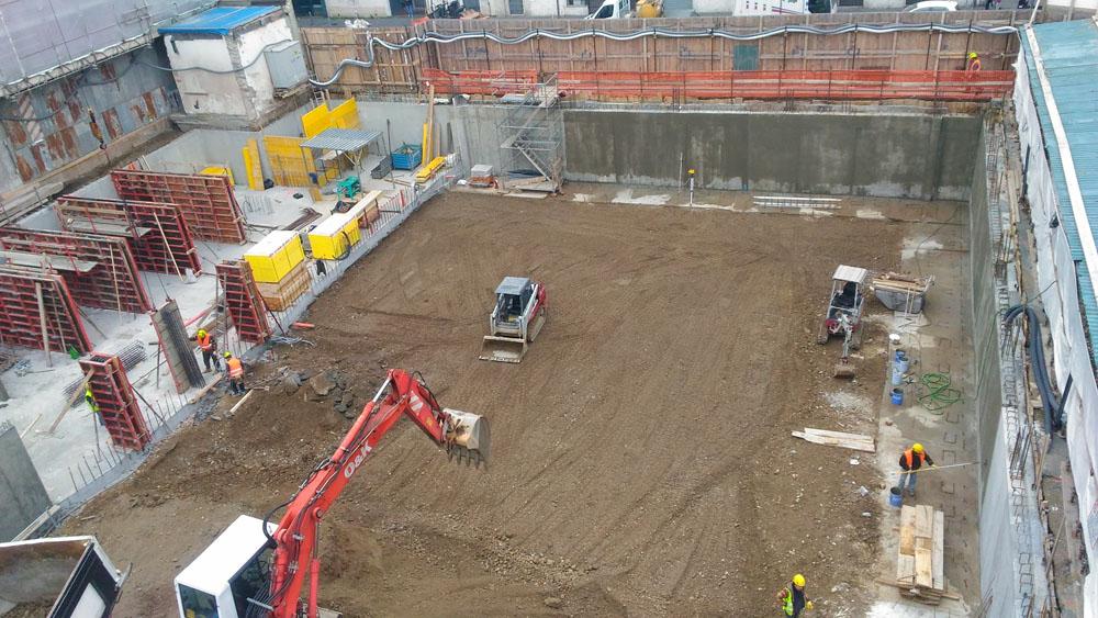 edilizia fontana sottomurazioni scavi armati specializzati sottomurazioni 13 scavi